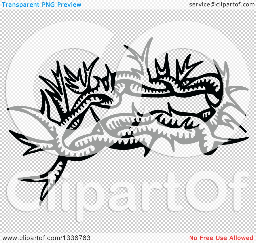 Crown Of Thorns And Cross With Transparent Background Clipart ...