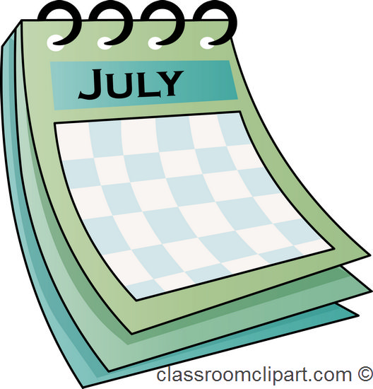 April Calendar Clip Art : Monthly calendar clipart suggest