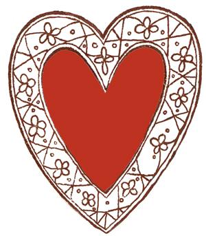 Pretty Heart Clipart - Clipart Kid