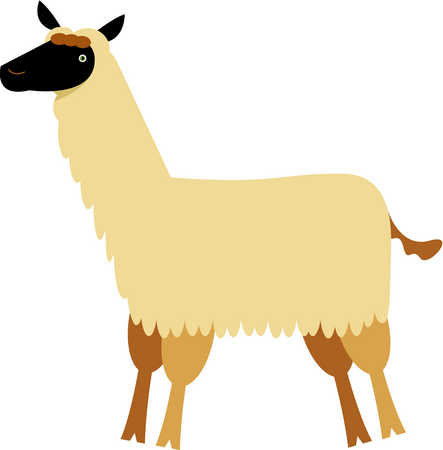 Stock Illustration   Drawing Of A Llama   Clipart Best   Clipart Best