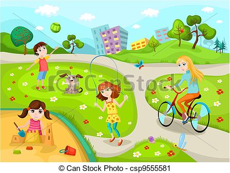Vector   Playground   Stock Illustration Royalty Free Illustrations