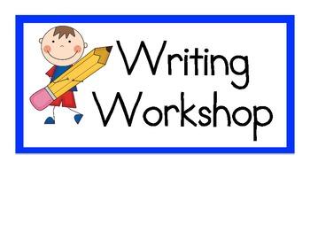 Writing Workshop Clip Art – Cliparts