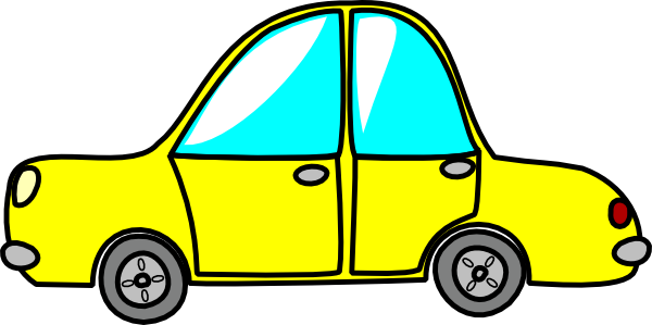 Yellow Toy Car Clip Art At Clker Com   Vector Clip Art Online Royalty