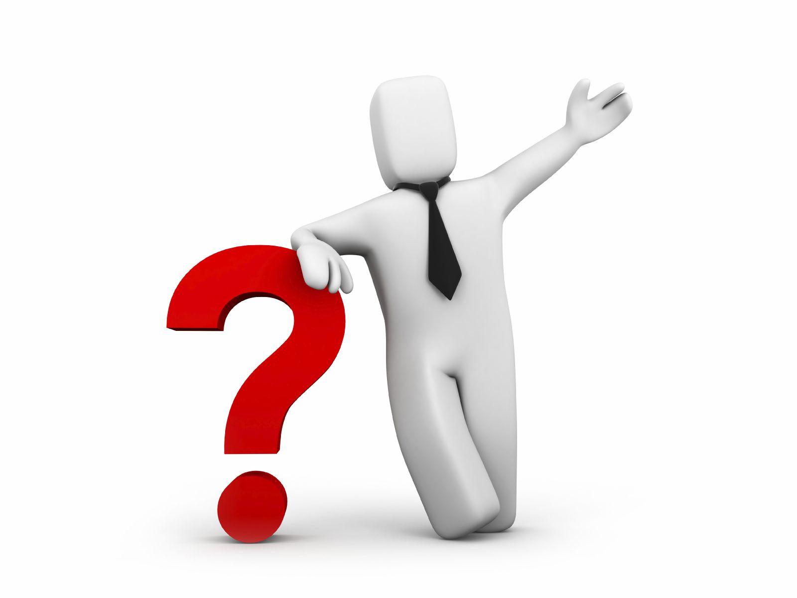 Question Stick Figure Clipart - Clipart Suggest