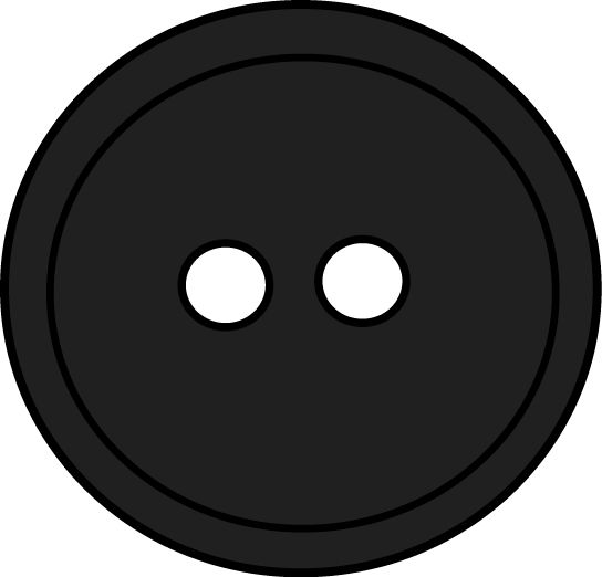 Buttons clipart black and white