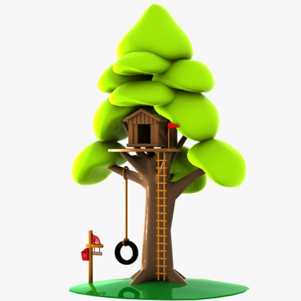 clipart pictures tree house - photo #46