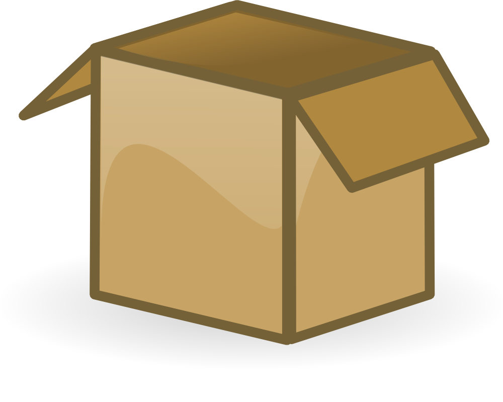 Full Cardboard Box Clipart Free Cliparts That You Can Download To