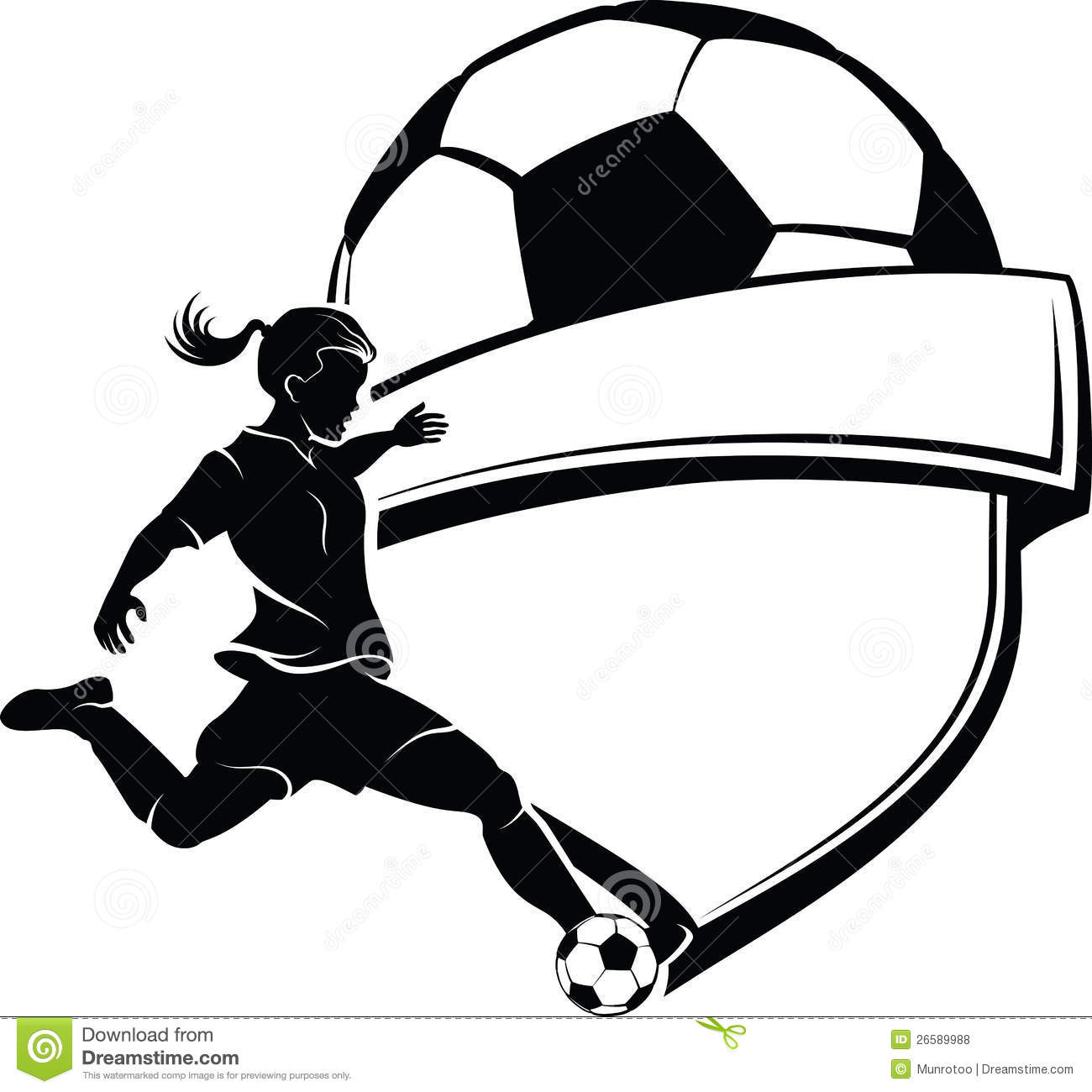 Kicking Soccer Ball Clipart - Clipart Kid
