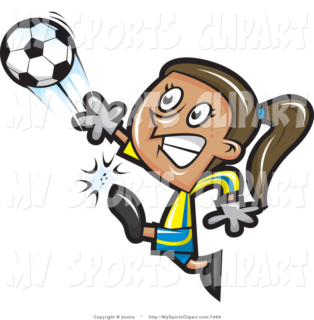 Girl Soccer Player Clipart   Clipart Panda   Free Clipart Images