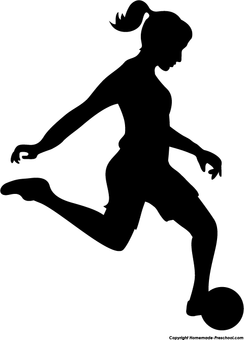 Girl Soccer Player Silhouette   Clipart Panda   Free Clipart Images