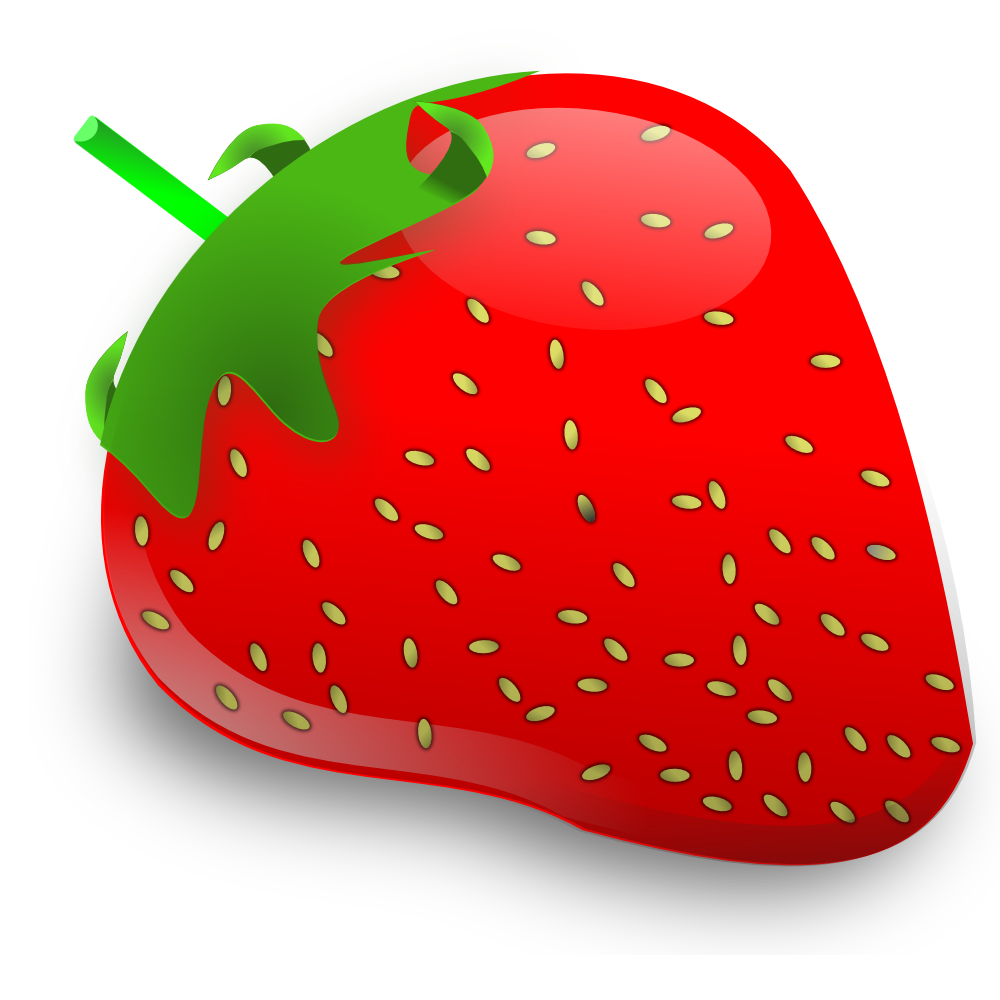 Clip Art Clipart Strawberry cartoon strawberry clipart kid onlinelabels clip art strawberry
