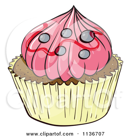 Pink Cupcake Clipart Cake Ideas And Designs