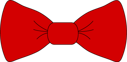 Red Bow Tie Clip Art   Transparent Png Red Bow Tie