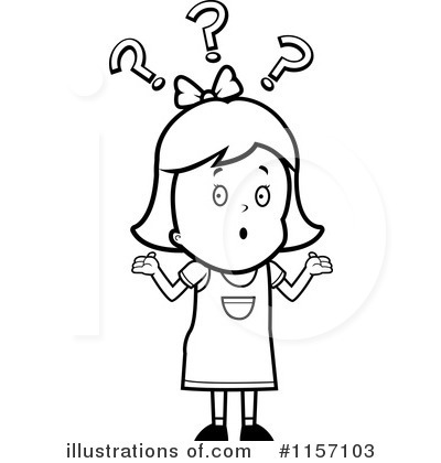 Royalty Free  Rf  Confused Clipart Illustration By Cory Thoman   Stock
