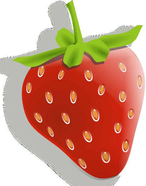Strawberry 7 Clip Art At Clker Com   Vector Clip Art Online Royalty