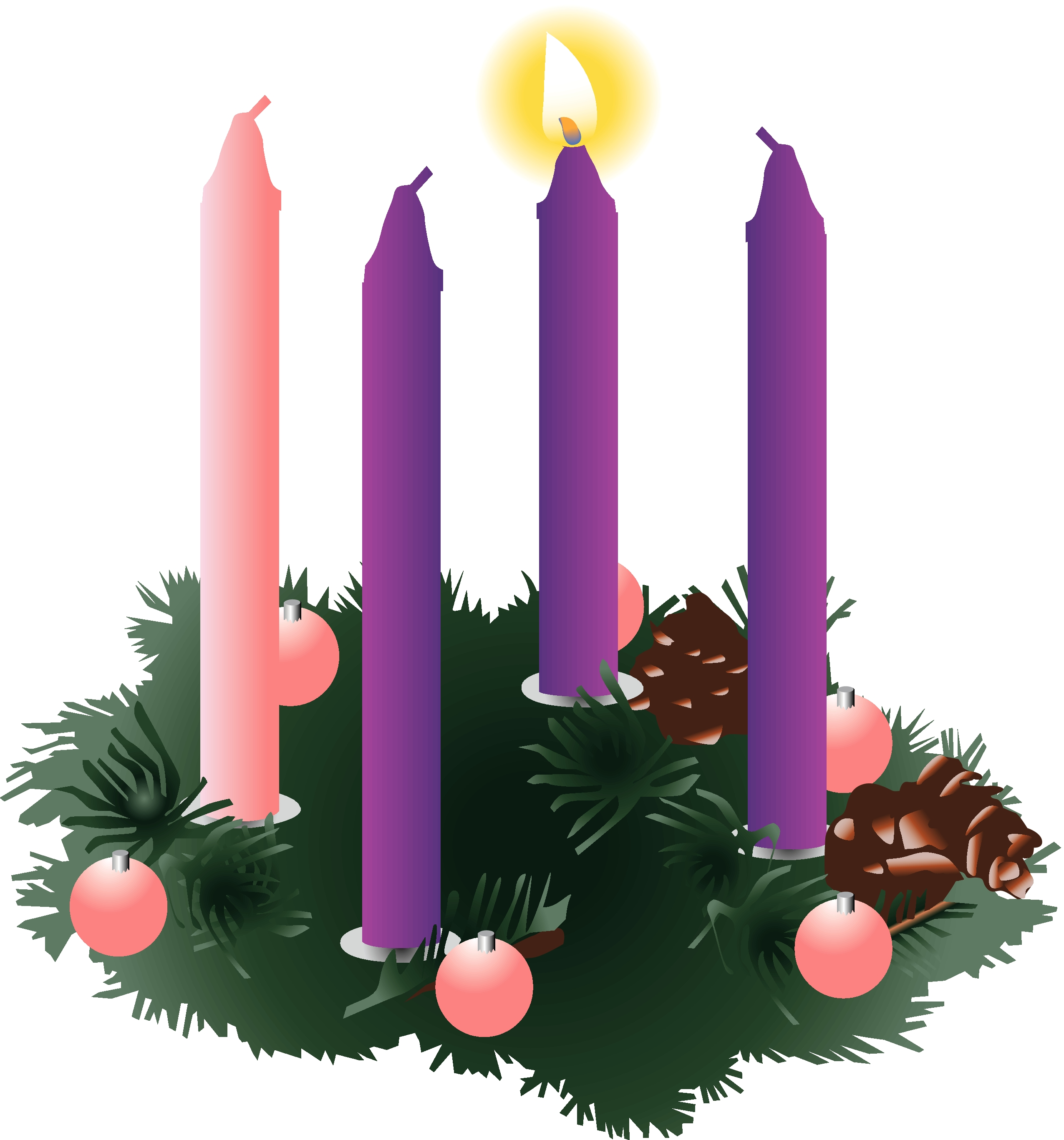 Image result for advent candles week one