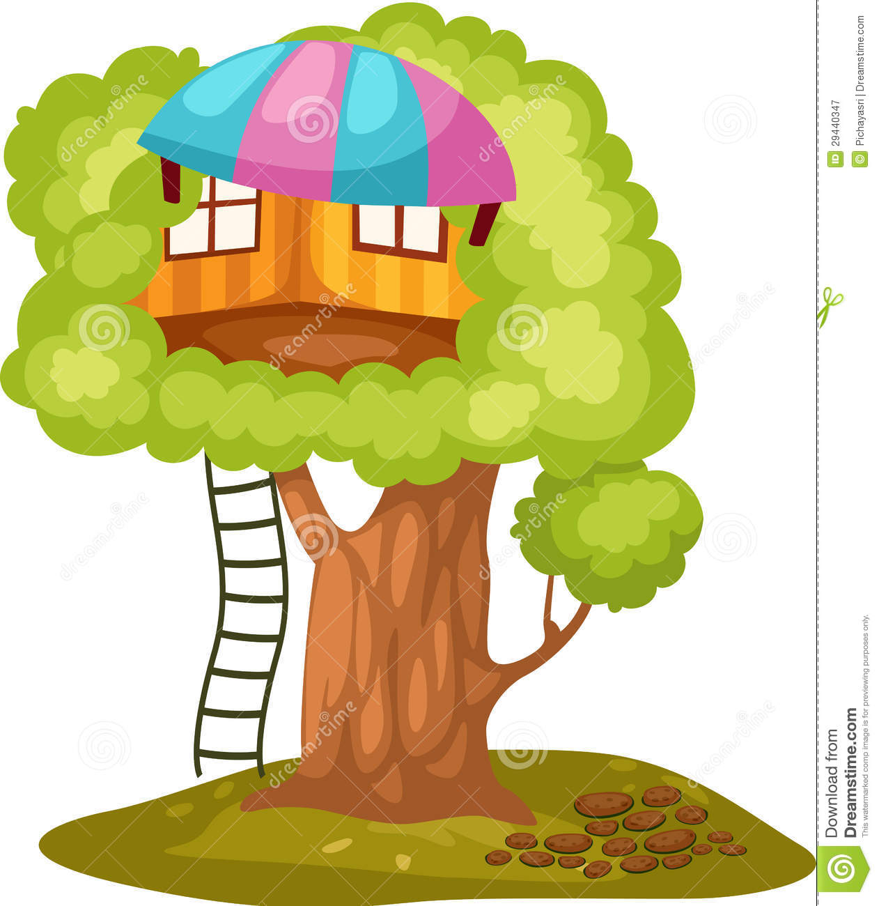 clipart pictures tree house - photo #27