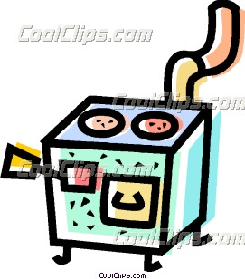 Wood Stoves Clip Art