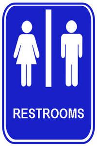 Bathroom Signs Clip Art   Group Picture Image By Tag