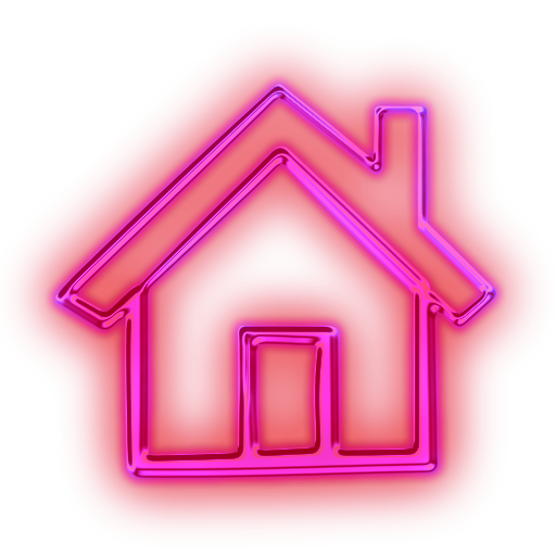 Glowing Purple Neon Icon Business Home Pink   Free Images At Clker Com