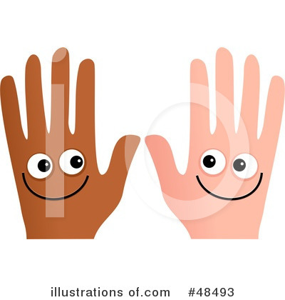 Hands And Feet To Self Clipart Royalty Free  Rf  Hands Clipart