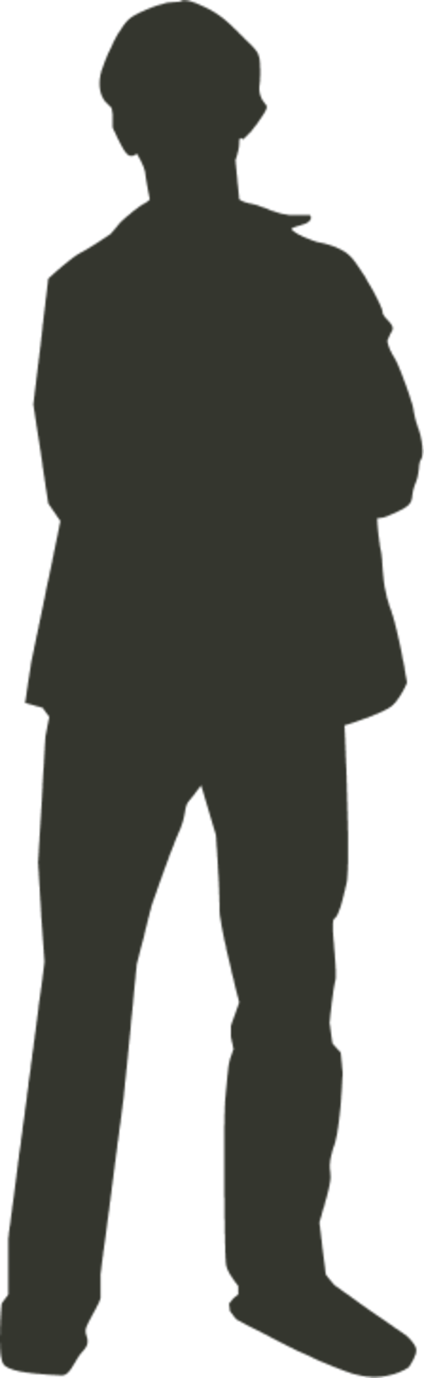 Large Person Outline 3 33 3 12632 Png