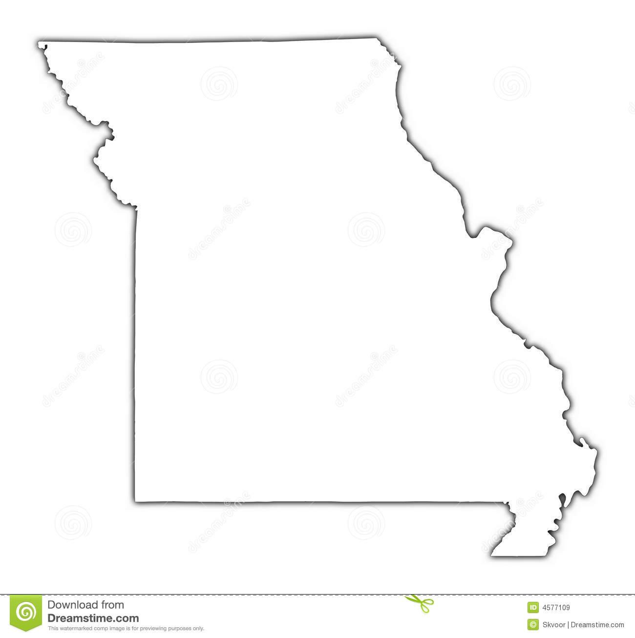 Missouri Map Clipart  Clipart Suggest