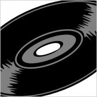 Music Record Clip Art
