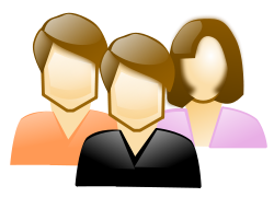 People Clipart Group Of Three People Clip Art Png