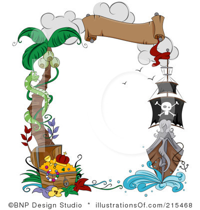 Pirate Border Clipart Pirate Border Clipart Pirate