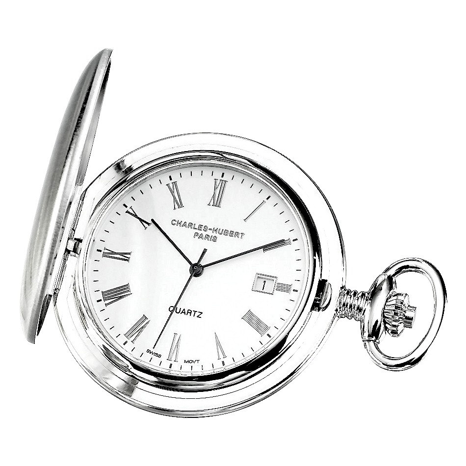 Pocket Watch Central   Engraved Swiss Gold Silver Steel