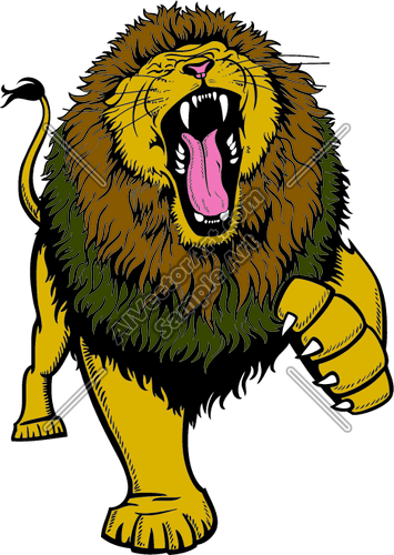 Roaring Lion Clipart Black And White Clipart Panda Free Clipart