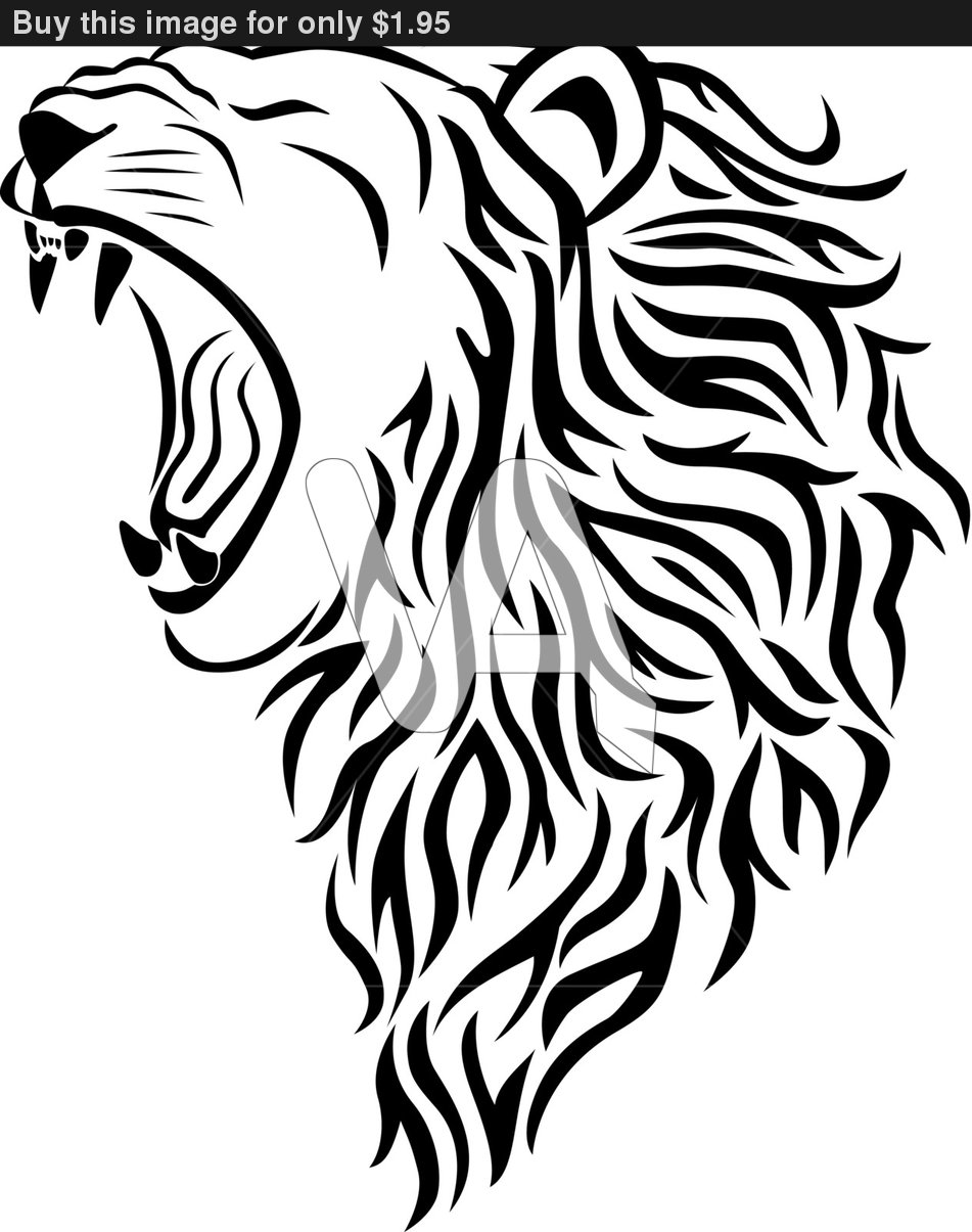 Roaring Lion Vector   Clipart Panda   Free Clipart Images