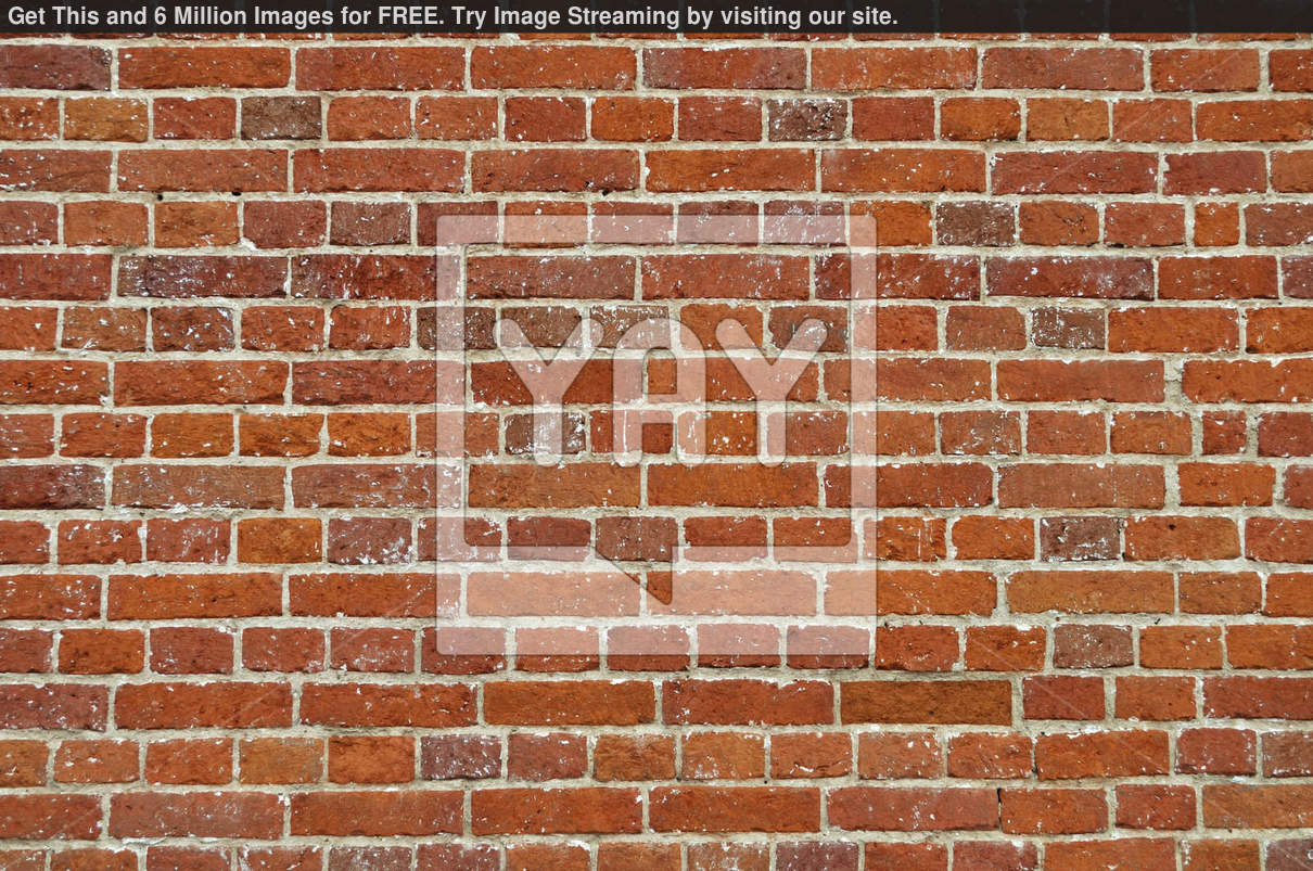 Royalty Free Image Of Rustic Red Brick Wall Background