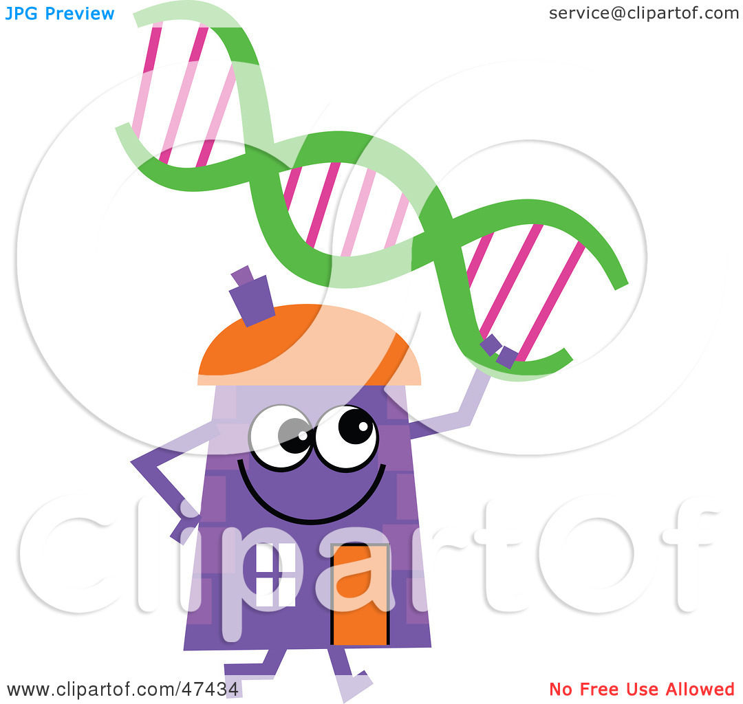 Royalty Free  Rf  Clipart Illustration Of A Purple Cartoon House