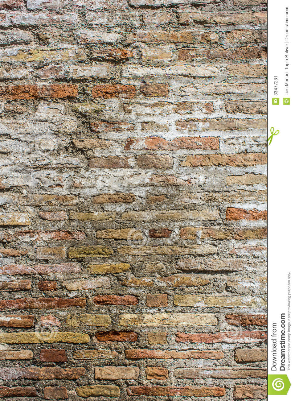 Rustic Brick Texture Stock Image   Image  33477281