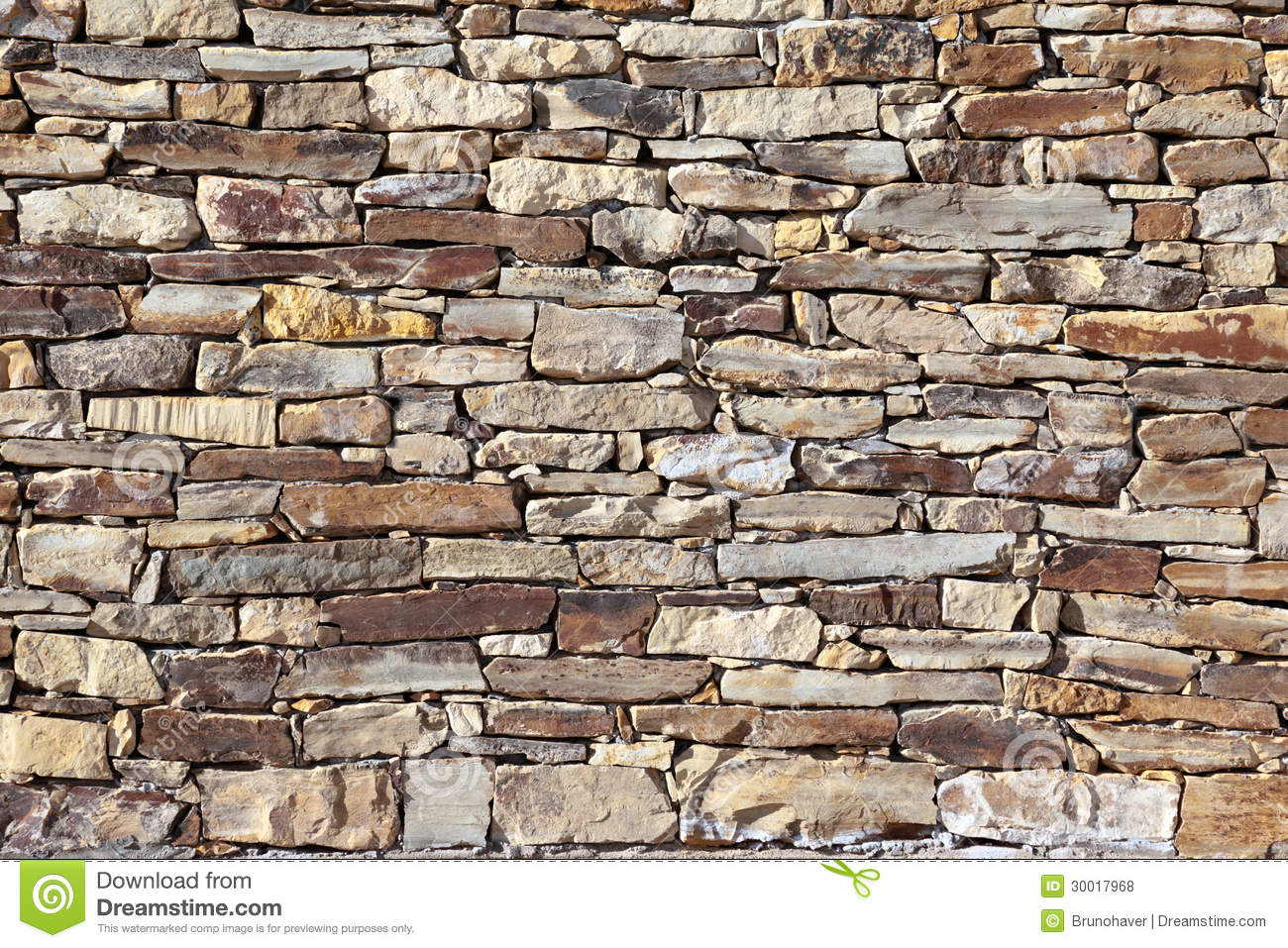 Stone Brick Wall Royalty Free Stock Photos   Image  30017968