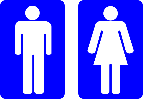 Toilet Signs Clip Art At Clker Com   Vector Clip Art Online Royalty
