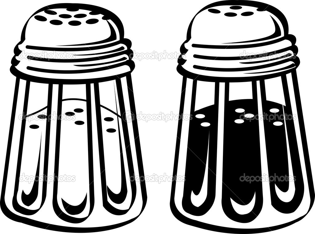 Salt Shaker Drawings Clipart Clipart Suggest