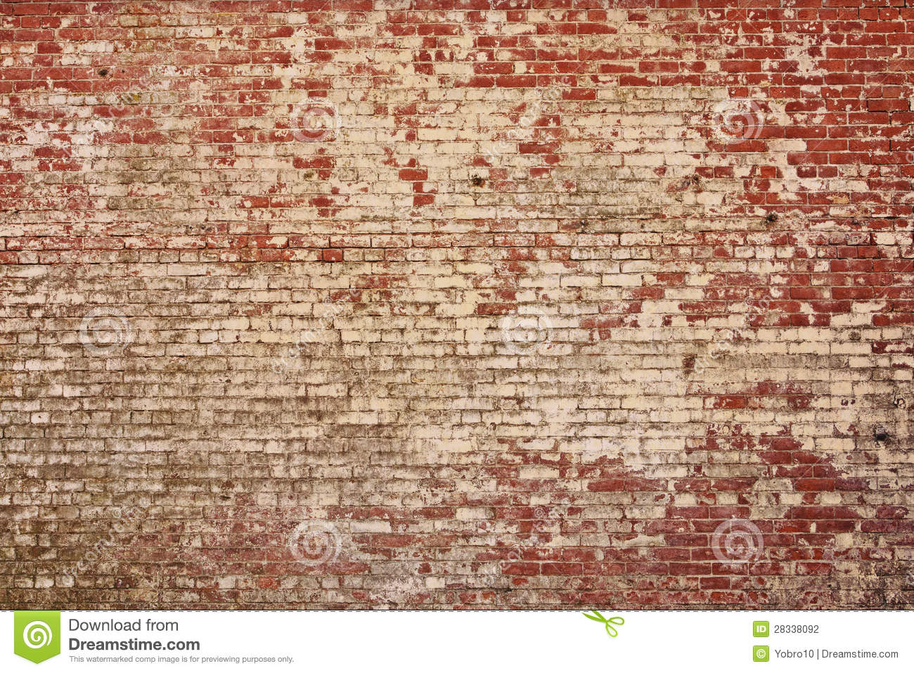 Vintage Style Old Red Brick Wall  Lots Of Detail And Texture In This