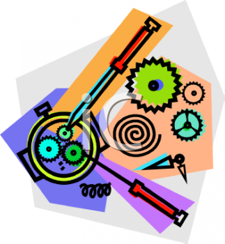 Watch Repair Icon   Royalty Free Clip Art Picture