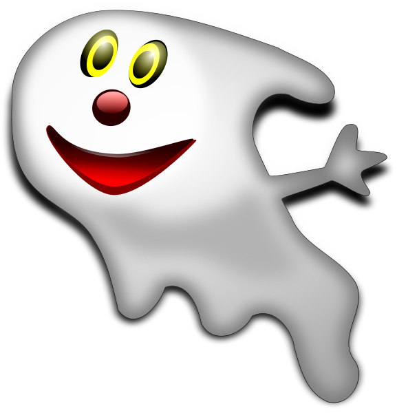 Back   Gallery For   Friendly Ghost Clipart