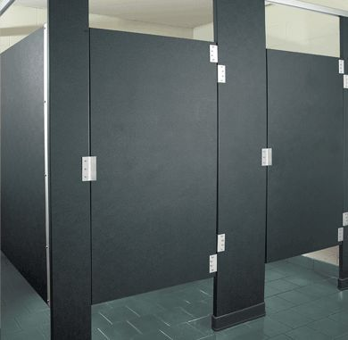 Commercial Bathroom Stalls On Solid Plastic Commercial Toilet Stalls