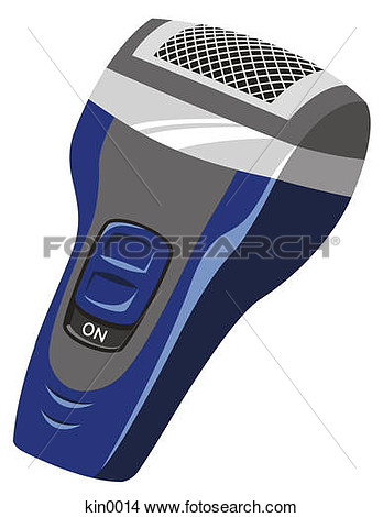 Drawing   Close Up Of Electric Razor  Fotosearch   Search Clip Art