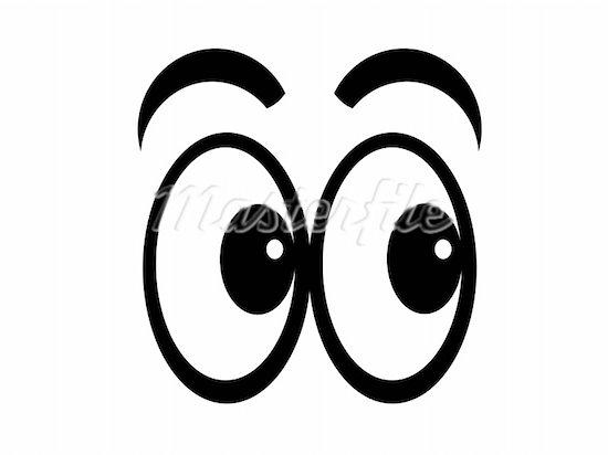 Cartoon Eyes Clipart -...