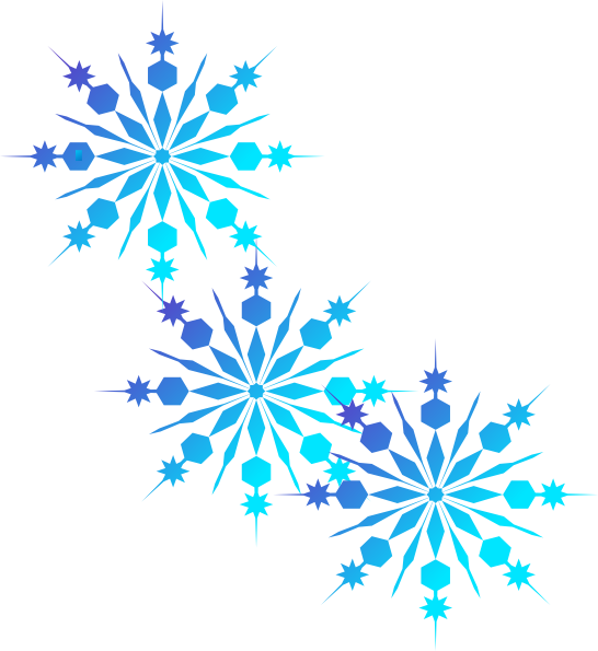 Christmas snowflakes borders clipart suggest