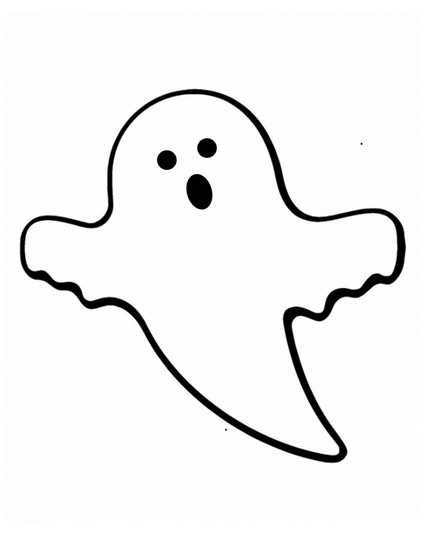 Friendly Ghost Clipart