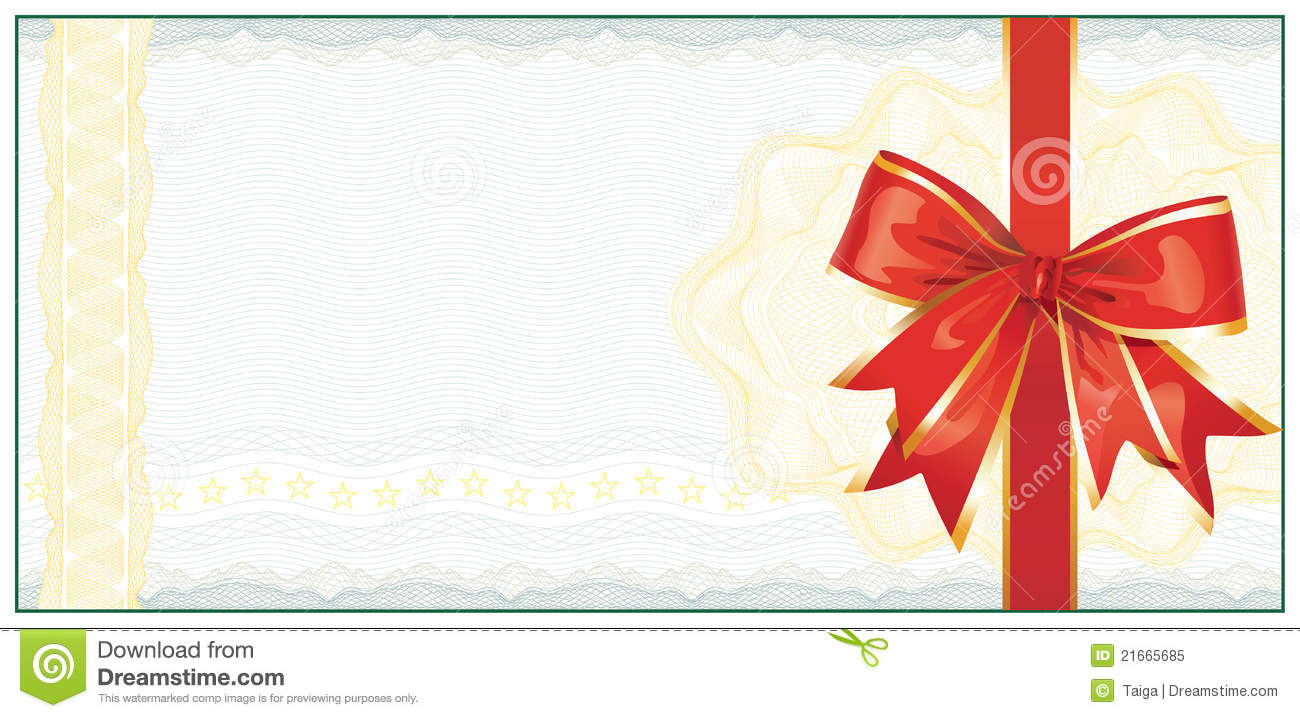 Christmas Coupons Template Golden Christmas Gift Certificate Or – Printable Christmas Gift Certificates Templates Free