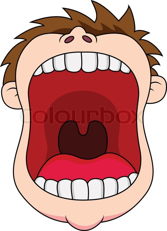 Open Mouth Cartoon Clipart - Clipart Kid
