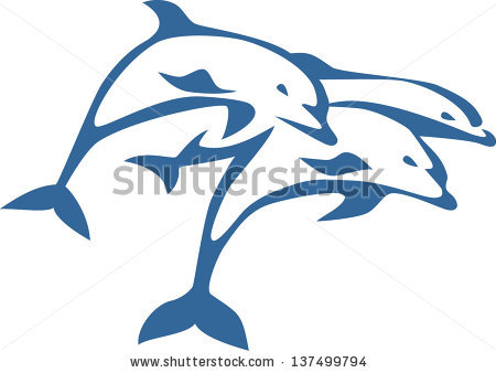 Jumping Dolphin Clipart - Clipart Kid